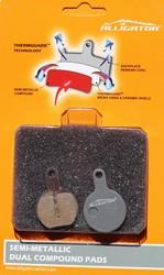 ALLIGATOR - Placute semi-metalice Alligator BP039