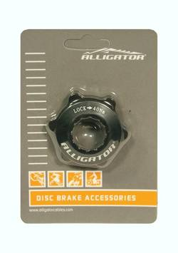 ALLIGATOR - Adaptor Center Lock + surub fixare - Alligator - CLA01, negru