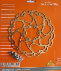ALLIGATOR - Disc Alligator Aries, suprafata titan-nitrit  160 mm  R21TI