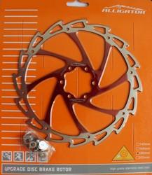 ALLIGATOR - Disc Alligator Wind Cutter rosu  180 mm  R12RD